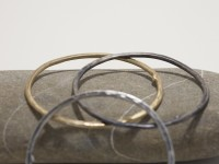 Bangle T Cerchio Gioielli Contemporanei